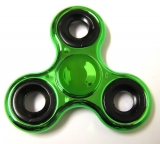 Hand Spinner metallic, Green