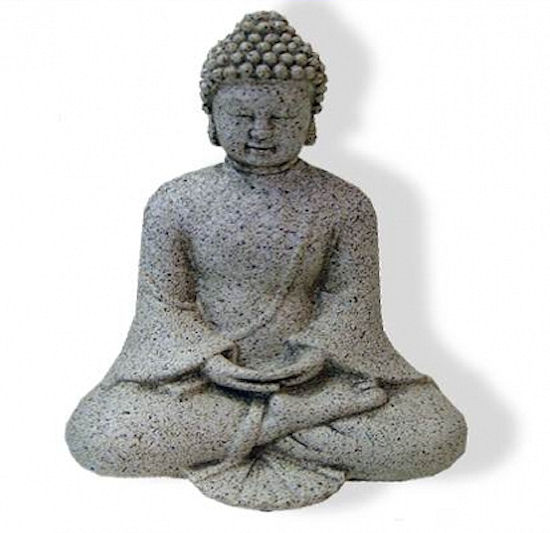 Buddha, meditace 12cm