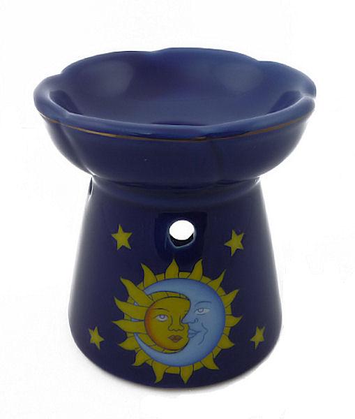 Rentex Aromalampa Slunce-měsíc, modrá 10,5cm