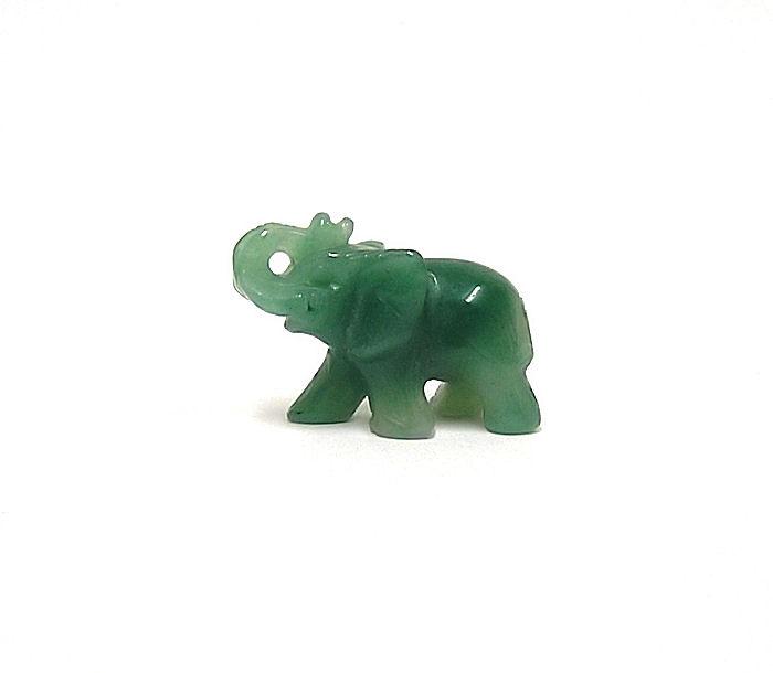 Slon Avanturin zelený 4cm