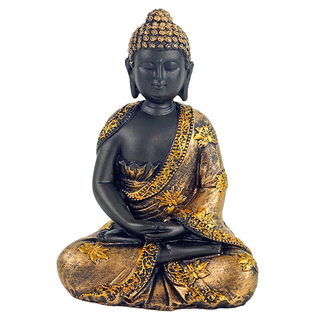 Buddha Antik, resin 16cm