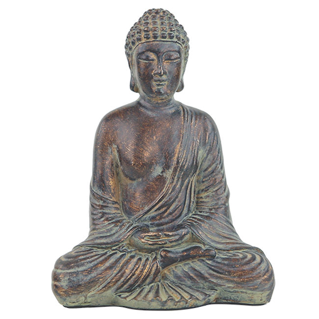 Buddha, resin 20cm