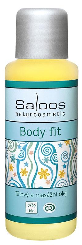 Saloos Bio tělový a masážní olej Body fit 50ml