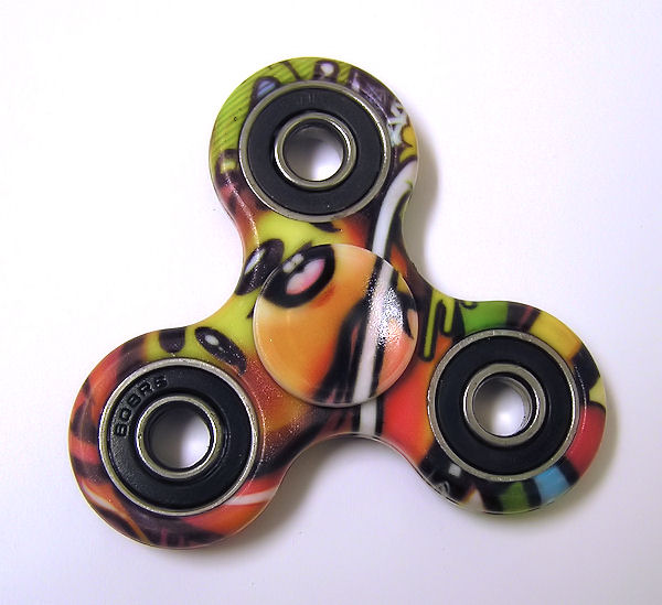 Widget Spinner 06, plast