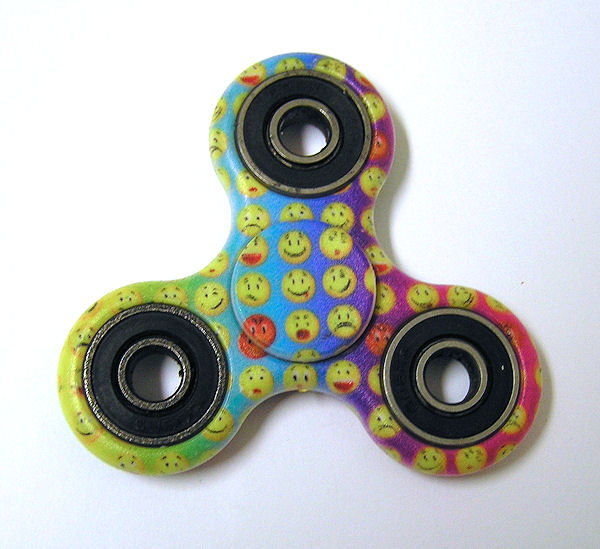 Widget Spinner 03, plast