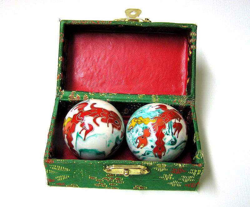 Čínské koule - žíhané, Fénix, 35mm