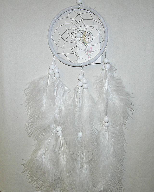 Lapač snů 11cm bílý