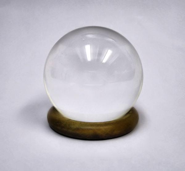 Věštecká křišťálová koule 6cm