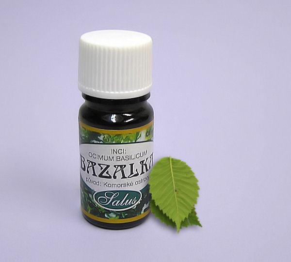 Esenciální olej Salus Bazalka 5ml.