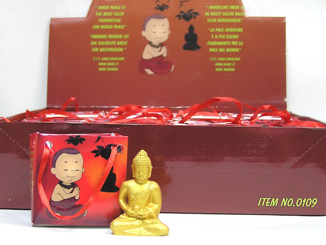Buddha Meditation, soška 5cm