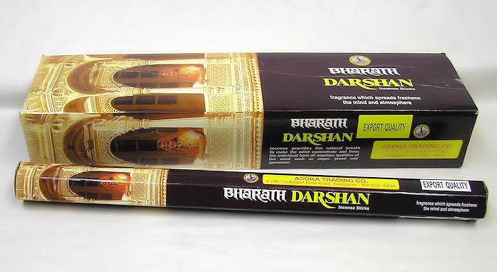 Vonné tyčinky Darshan Bharath Incense, dlouhé 10ks