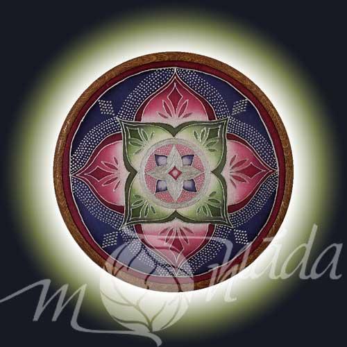 Mandala kartička Bdělost