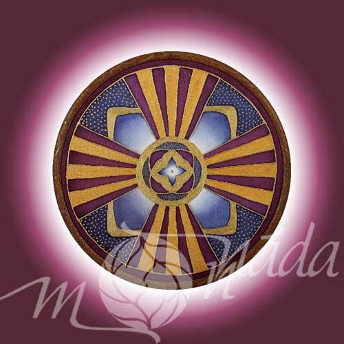 Mandala kartička Uvědomění