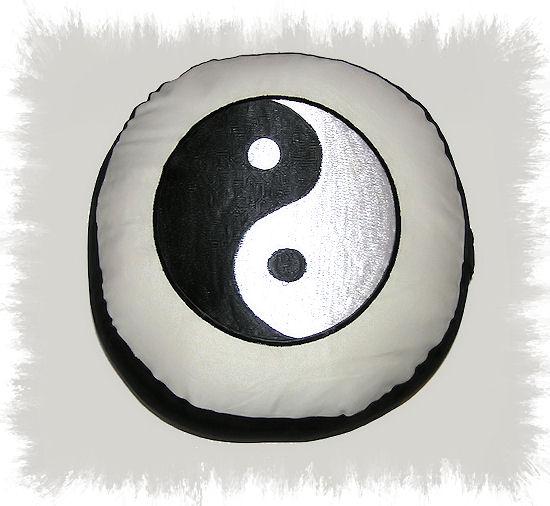 Phoenix Meditační polštář Jin-Jang 33x17cm
