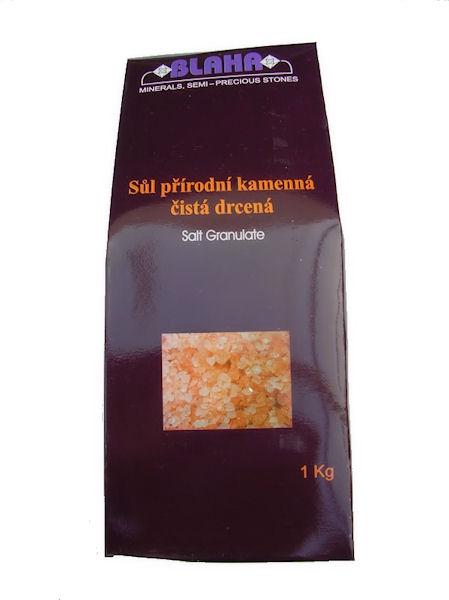 Himalájská sůl drcená, 1kg sáček