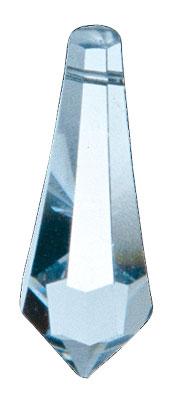 Křišťál Jehlan 40mm