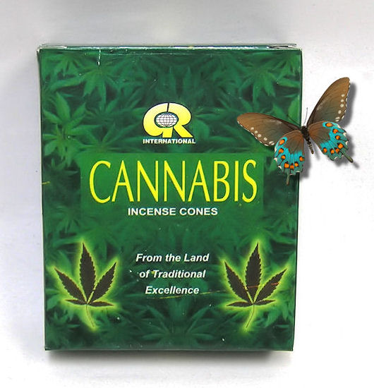 Vonné jehlánky GR Cannabis 10ks