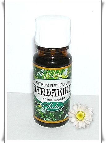 Esenciální olej Salus Mandarinka 10ml.