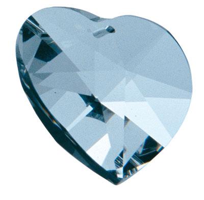 Křišťál Srdce 28mm