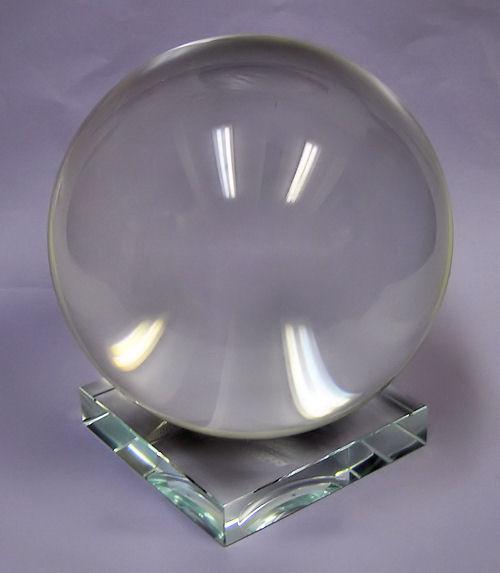 Věštecká křišťálová koule 12cm