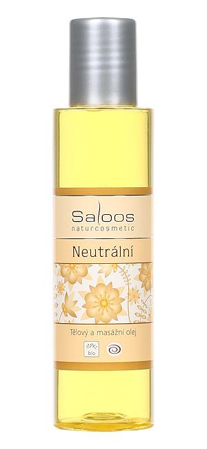 Saloos Bio tělový a masážní olej Neutrální 125ml