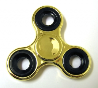 Hand Spinner metallic, Gold