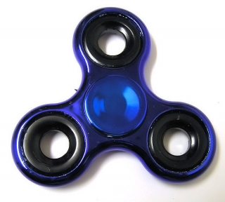 Hand Spinner metallic, Blue