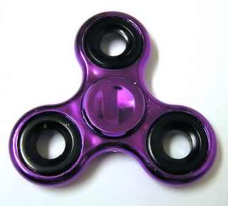 Hand Spinner metallic, Purple