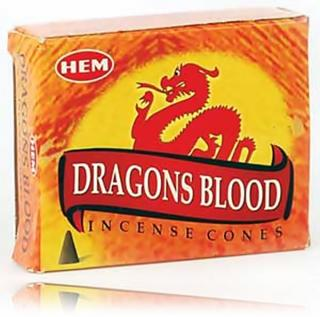 Vonné jehlánky HEM Dragons Blood 10ks