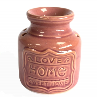 Aromalampa Love Home Sweet Home, pink 11cm
